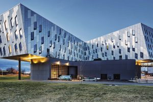 Fishing-Design Facade Transforms Clarion Hotel Energy in Norway