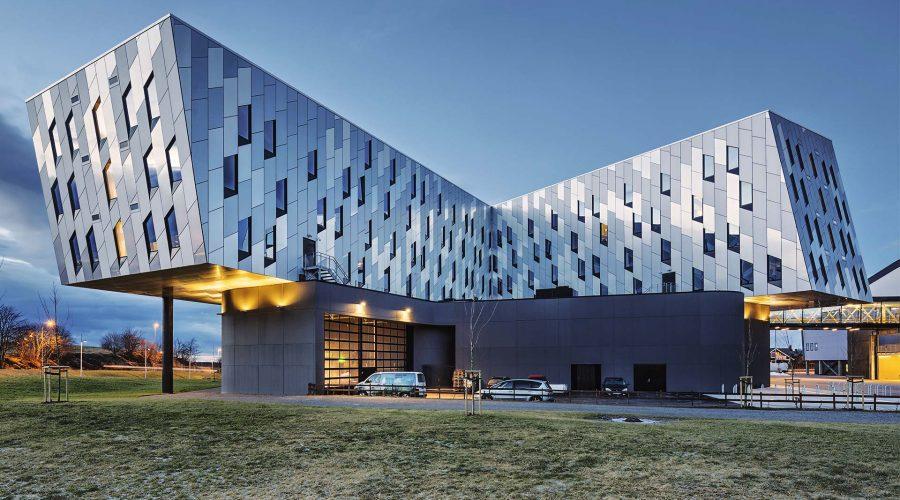 Fishing-Design Facade Transforms Clarion Hotel Energy in Norway